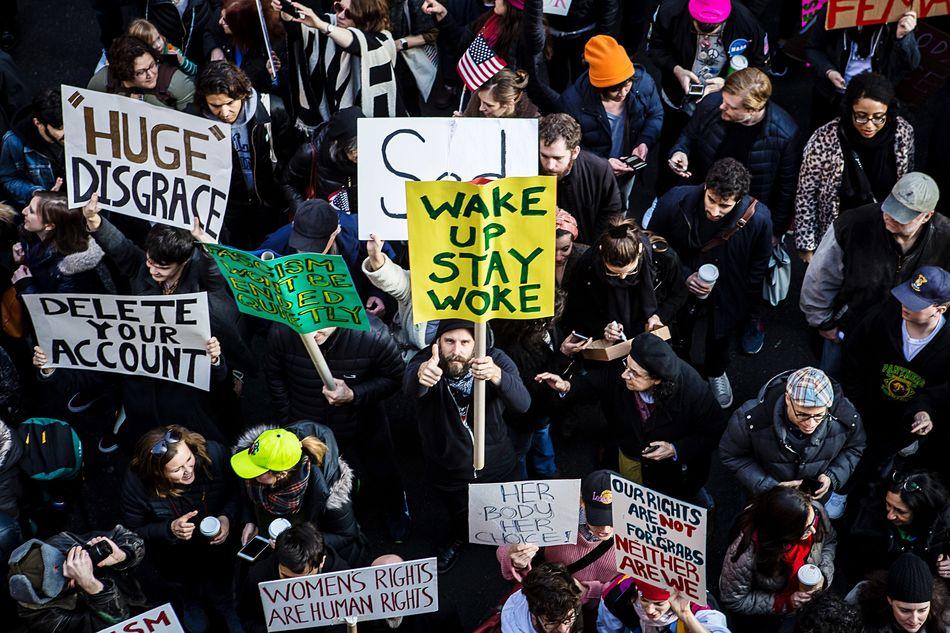 Stay Woke. Womensmarch NYC Photography NYC
