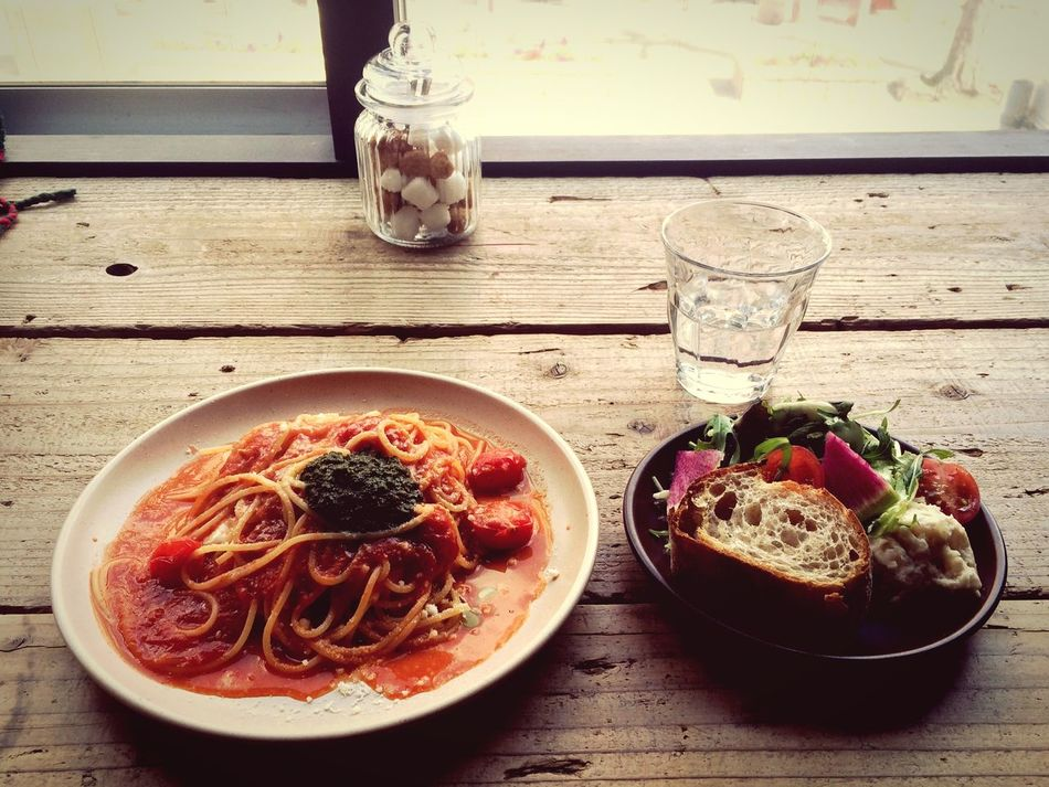 good time, good friend, good foods, good colFoods FoodsColorsCColor Pasta VegetablestTomatotCheesecSalad GooddKobedKitanokTRITONCAFEOトリトンカフェリトンカフェ
