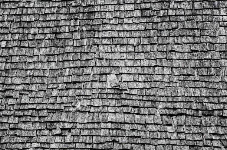 Black & White Roof Top Tiles Thailand