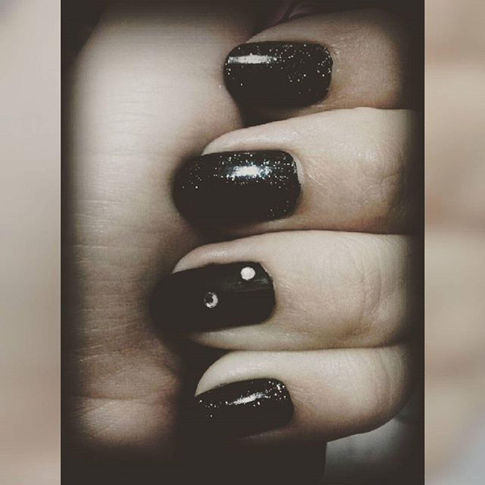 Unhas Unhasdecoradas Nails Nailsblack Glitter