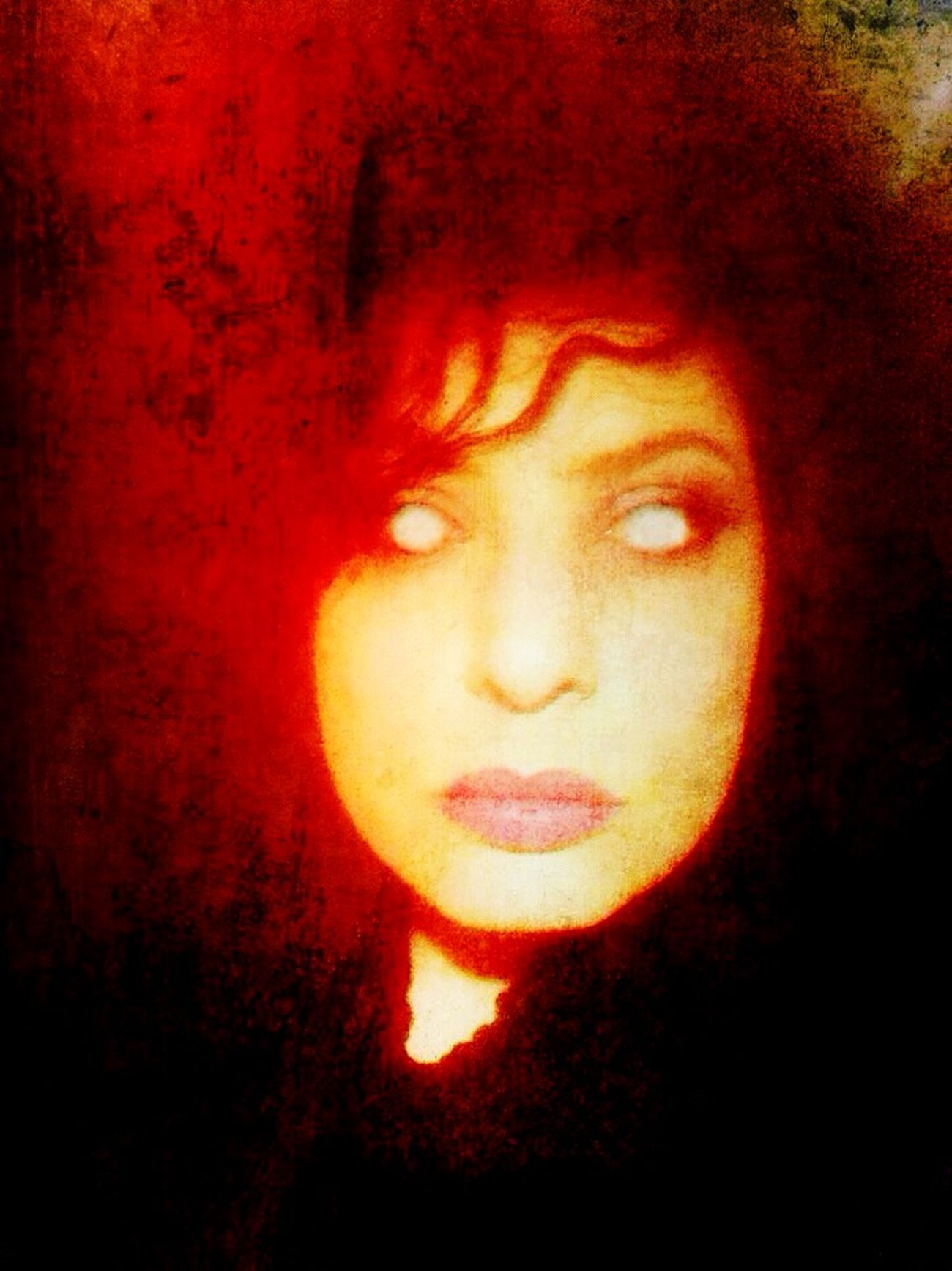 Red Dark Edit Dark Art NEM Self OpenEdit Open Edit Selfportrait Look Into My Eyes... Look Into The Darkness  Goth Self Portrait Dark Portrait Darkart Darkness MemyselfandI
