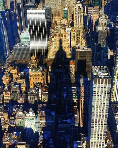 Shadow Empire State Building Empirestatebuilding NY NYC Bestoftheday Picoftheday Photooftheday Streetlife Ilovenyc Iloveny