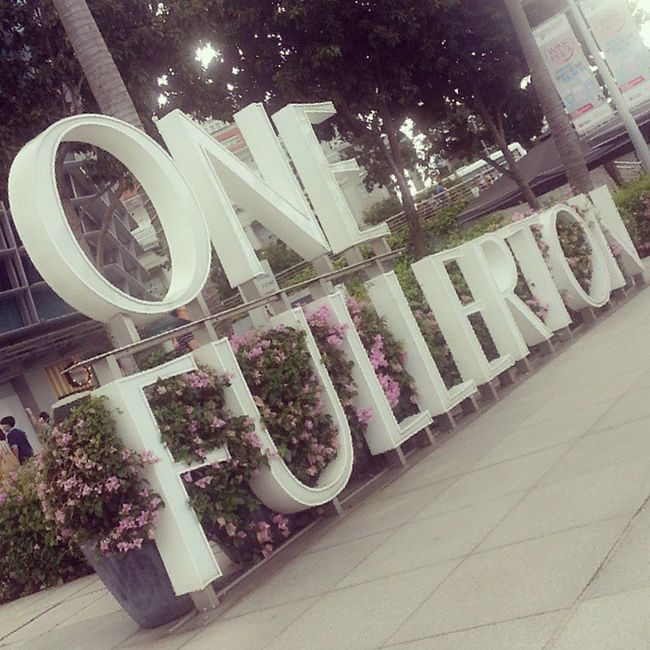 Enjoyed my Sunday Blessed  OneFullerton Singapore road picture ig