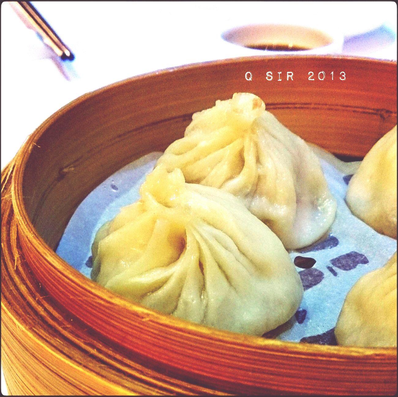 Dinner Chinese Food Steamed Dumplings HongKong