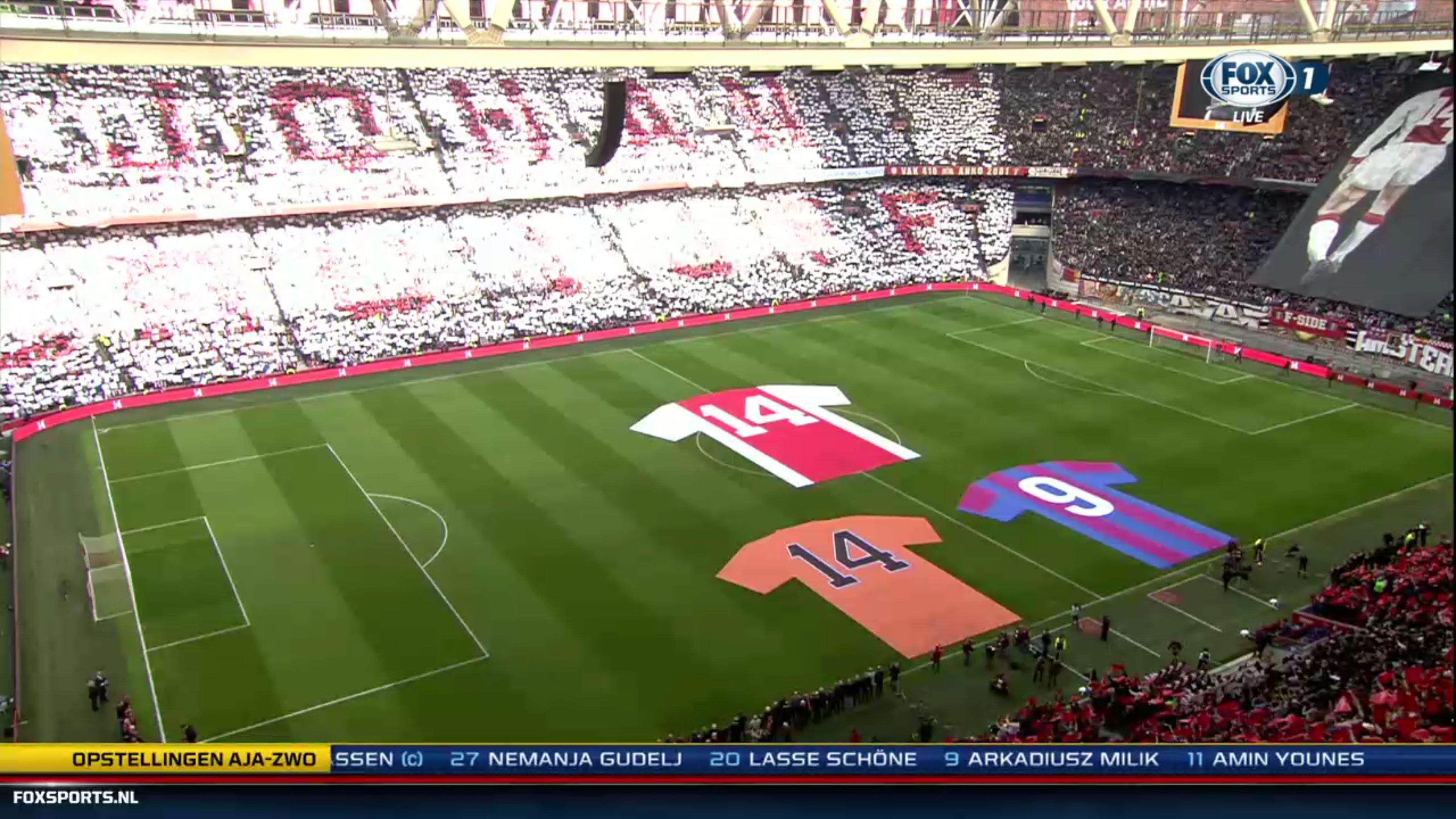 Impressive #JohanCruijff #ThankYouJohan