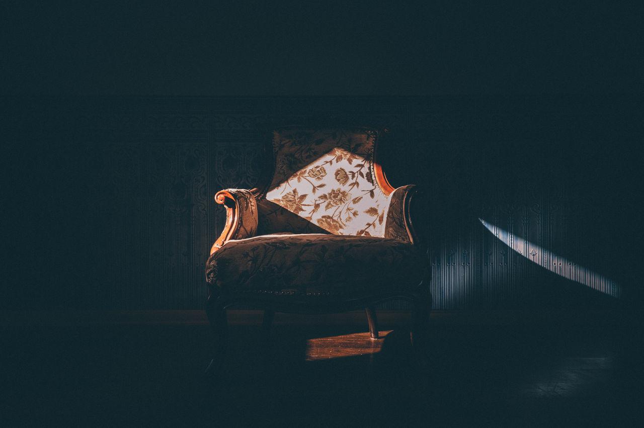 Beautiful stock photos of ukraine, Chair, Darkness, Darkroom, Empty