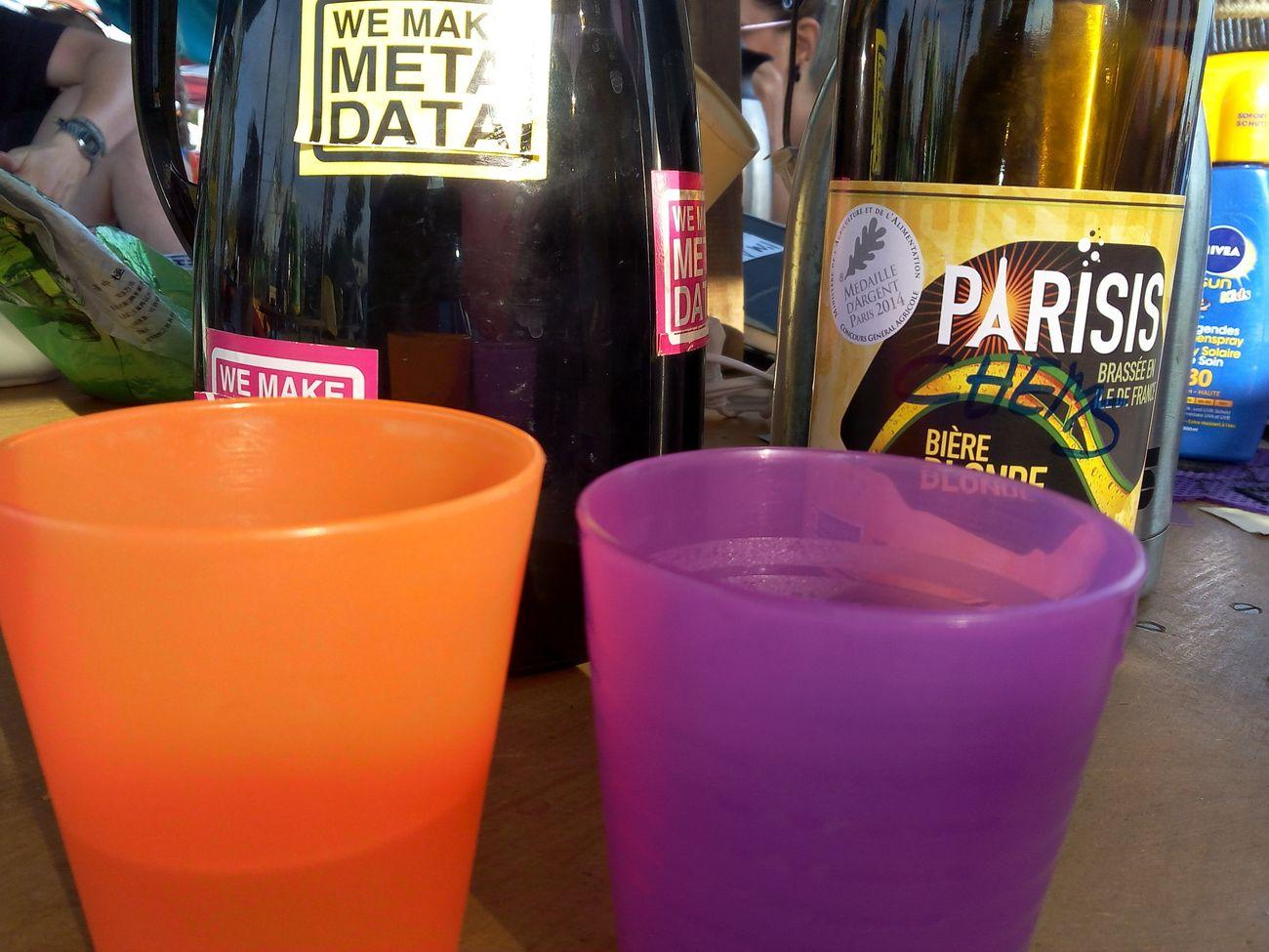 Une Parisis s'incruste à La Quadra'Tea House CCCamp Cccamp15