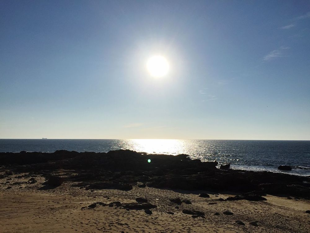 Lecadapalmeira Portugal Beach Empty Places Relaxing Sun Sea And Sky Sea View Quiet Places