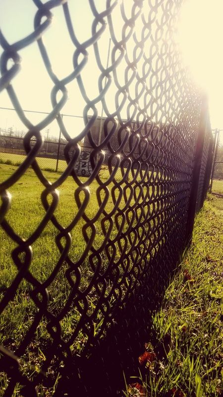 Fence Chainlink Fence Protection Security Metal Safety Chainlink Outdoors Day No People Grass Close-up Nature Sky