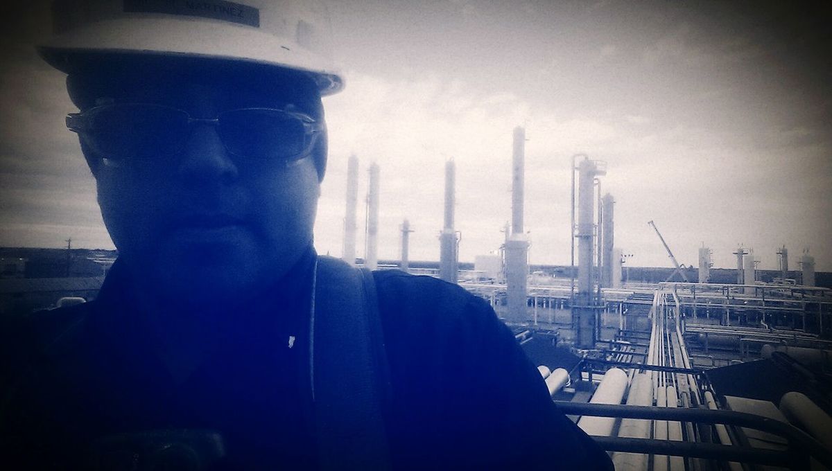 Gas Plant Rat! Kinder Morgan! Kinder Morgan Hard Work Gas Plant Rat That's Me Taking Photos