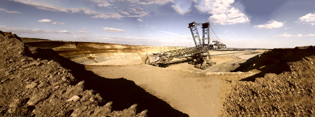 Brown Coal Excavation Excavation Machinery Fotoart Garzweiler Industrial Building  Industrial Photography Industriekultur Lignite Excarvation Lignite Excavation Panorama Lignite Excavator Lignite Mining Lignite Mining Area Lignite Panorama Machinery Machinery Art Panorama Panoramic Photography