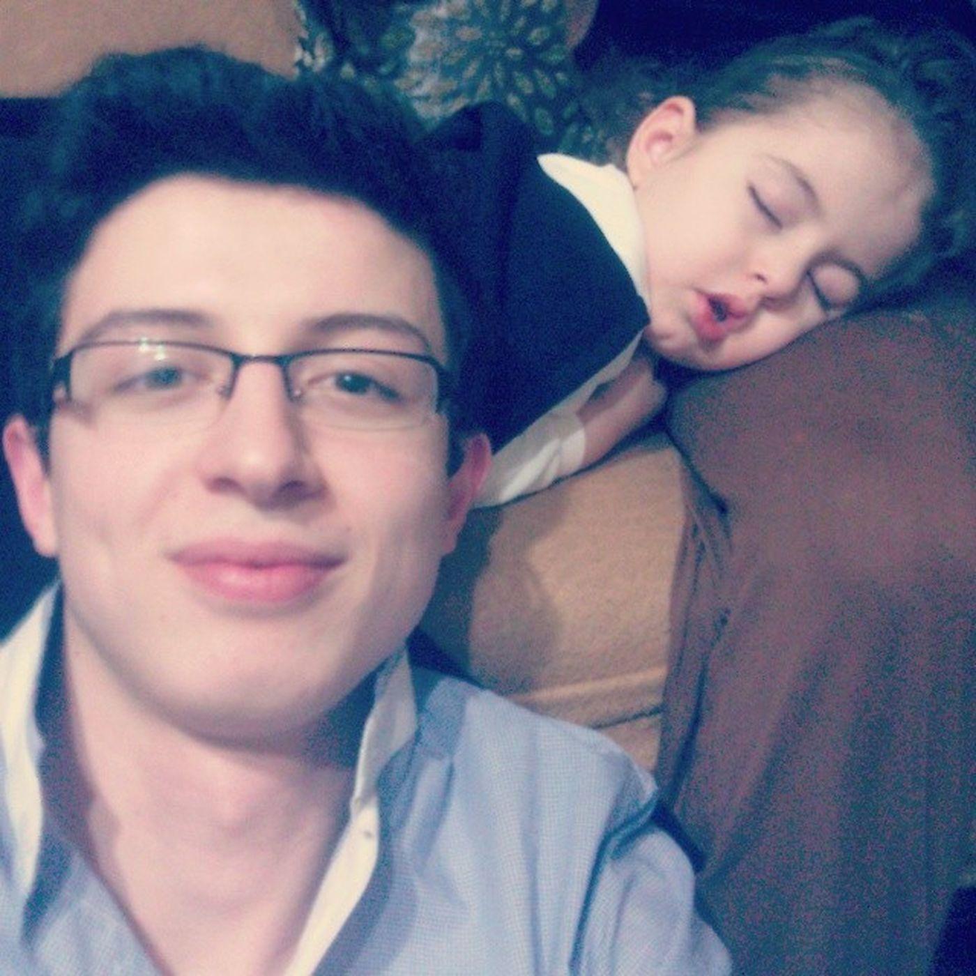 Dayı Yegen Nephew  Berra duru sleep cute