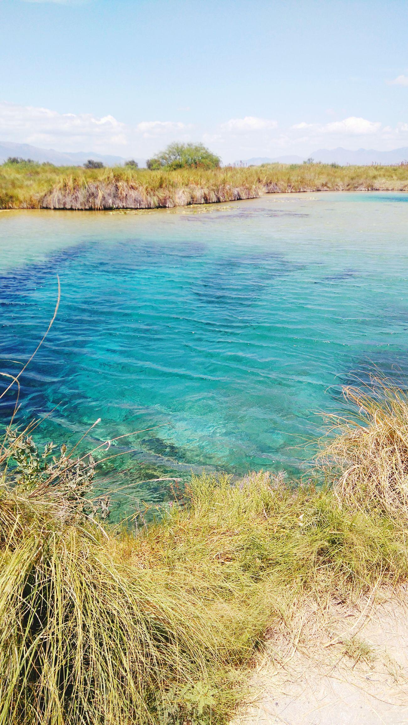 Poza Azul,Oasis en el Desierto de Coahuila, México