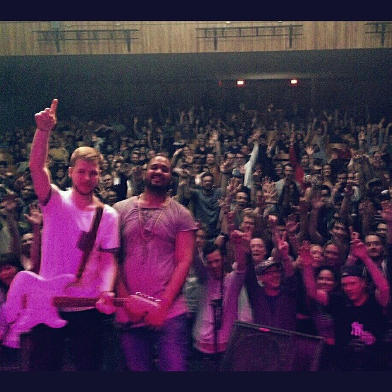 Damn Ottawa what a crazy night! Thanks for rocking with us and @shadkmusic Fromthestage Ontarioscene