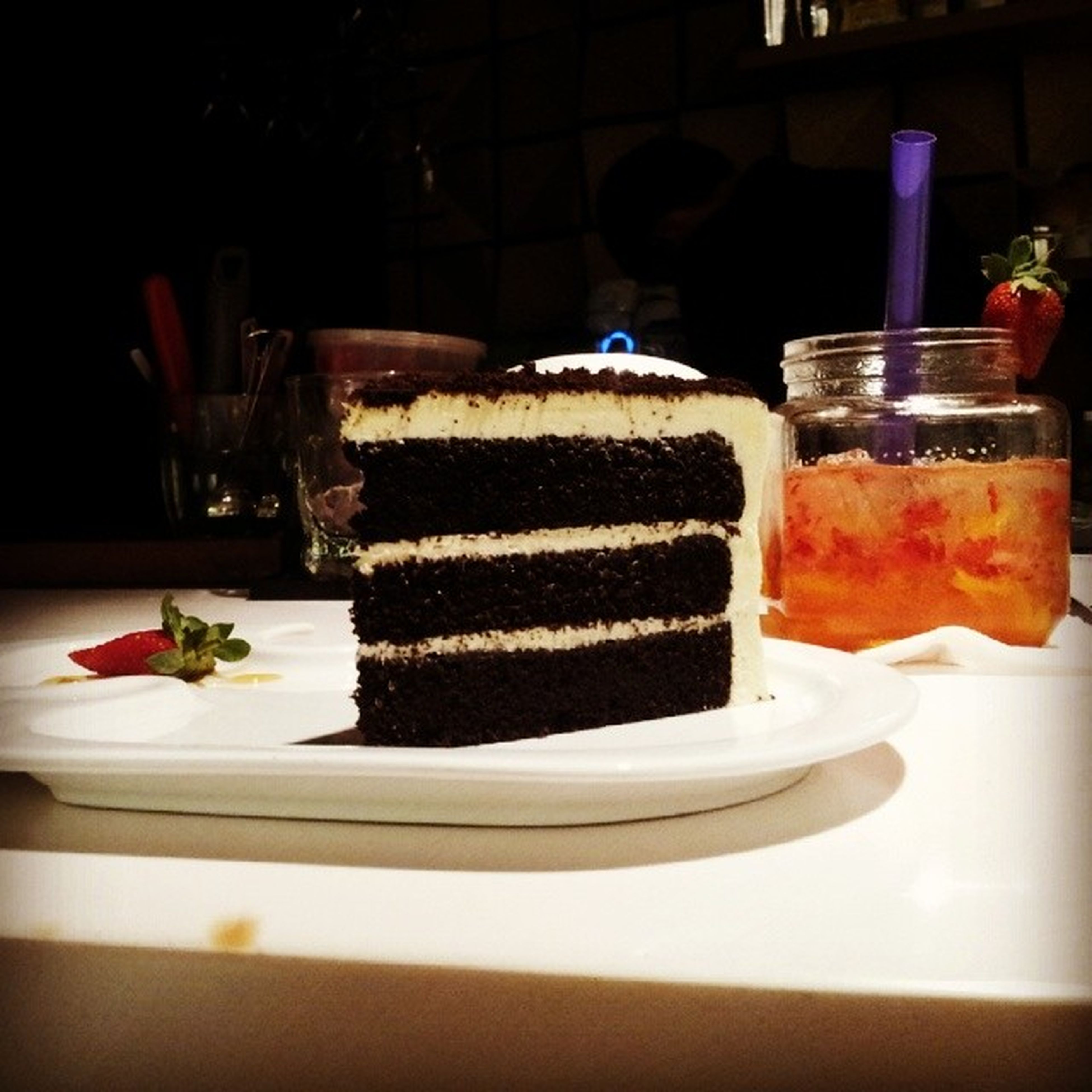 It's Black Velvet and Princess Peach *without alcohol of course* and you can call it, itadakimasu! Instafood Selfiefood Ig Inagram