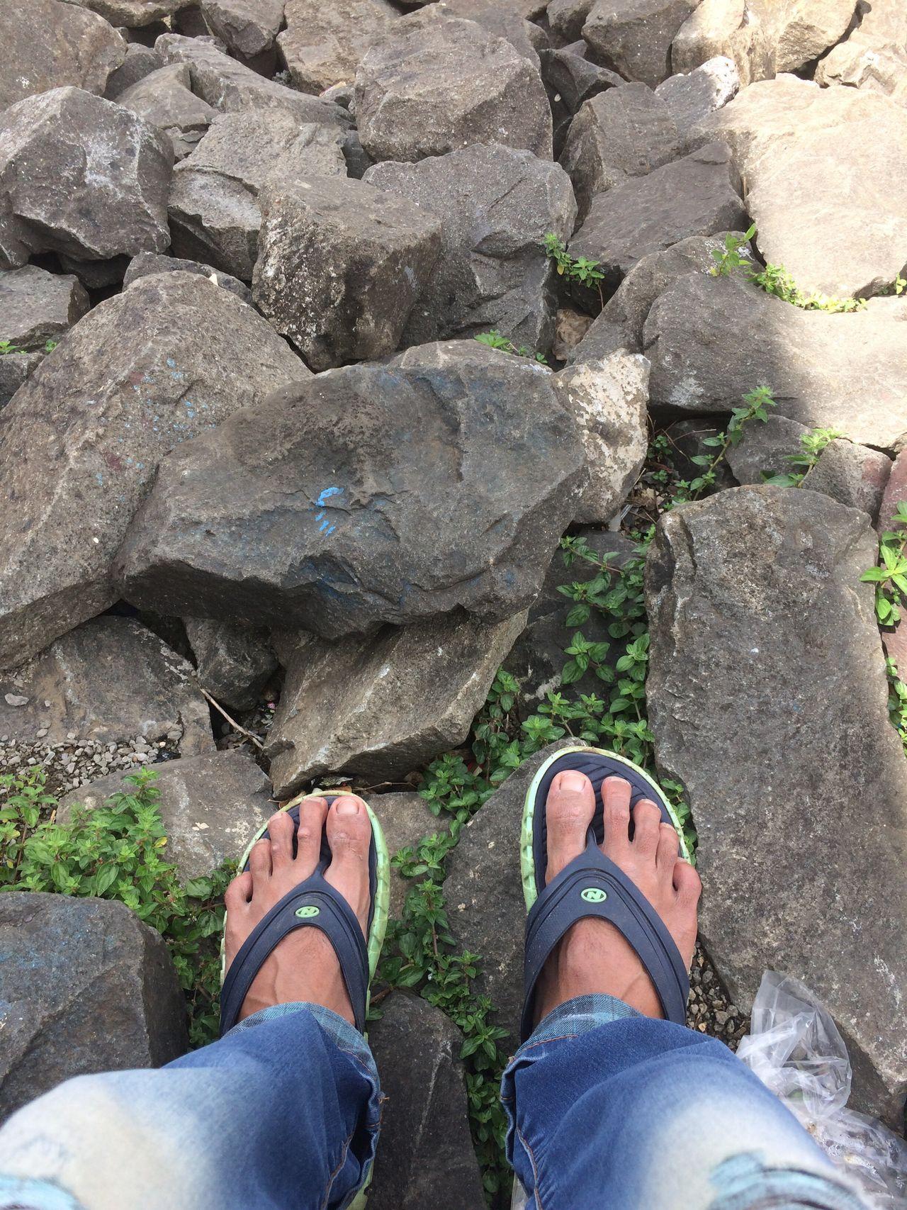 Rocks Footwear Sandals Feet Wearing Sandals Feet Feet On The Ground Feet On The Rocks