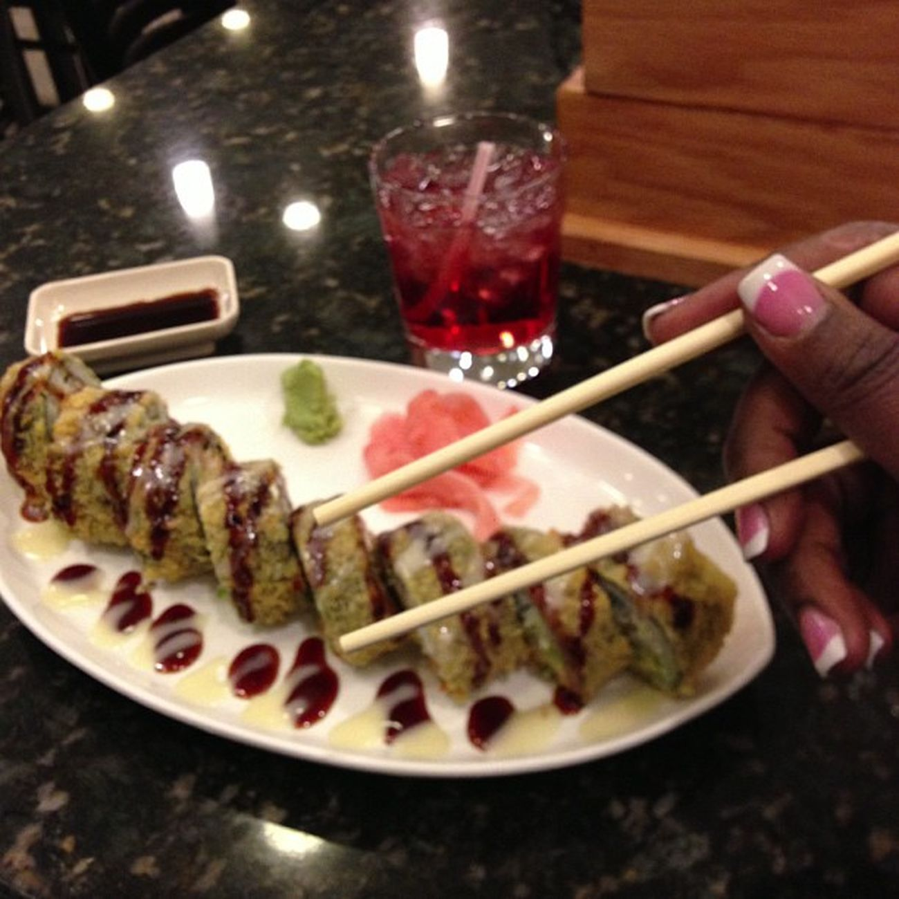 Y'all kno I love my sushi Poupdrank