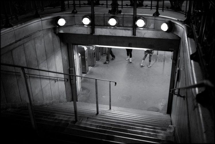 Paris Metro Monochrome