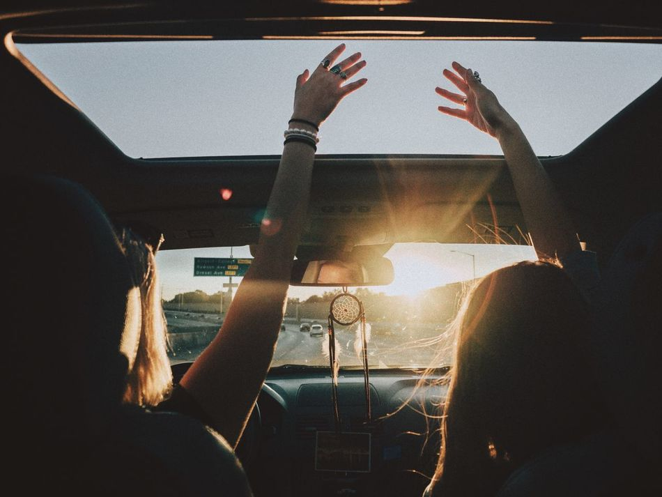 Beautiful stock photos of goodbye, Arms Raised, Bonding, Car, Enjoyment