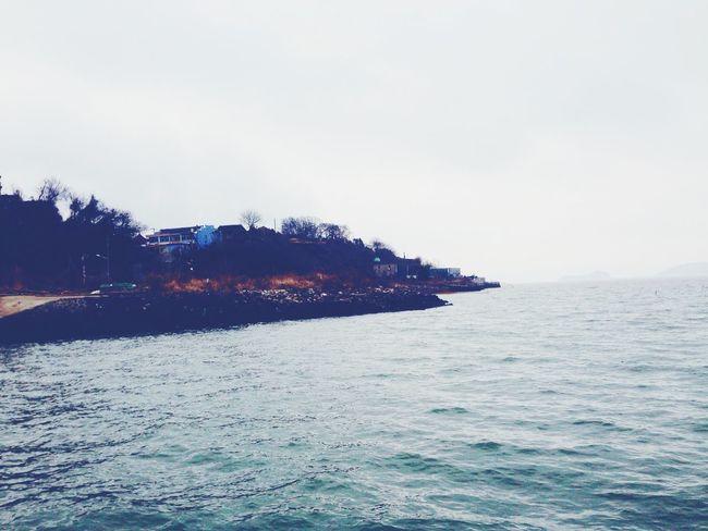 Seascape Island Enjoying The View