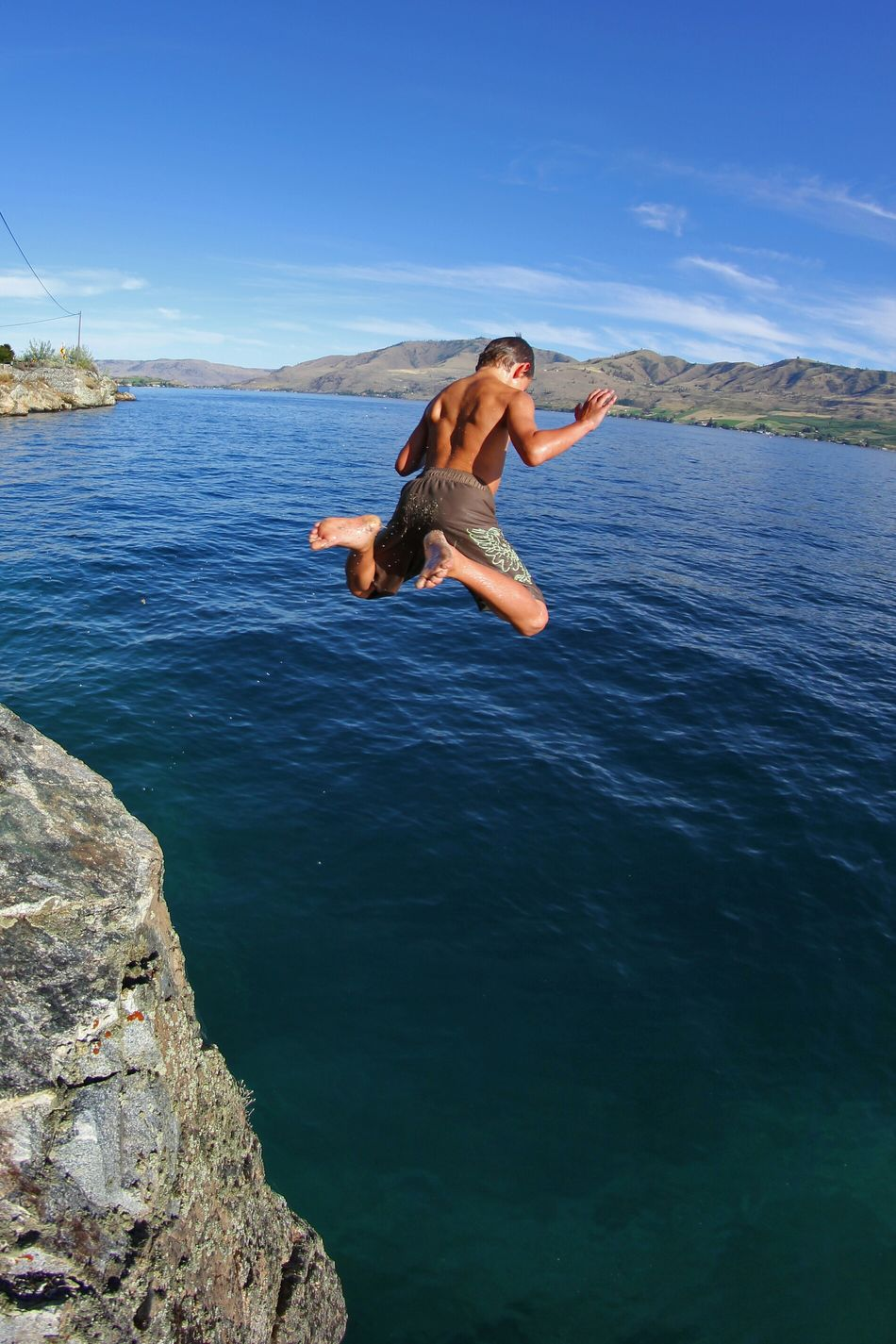Beautiful stock photos of jump, Arms Raised, Barefoot, Candid, Chelan