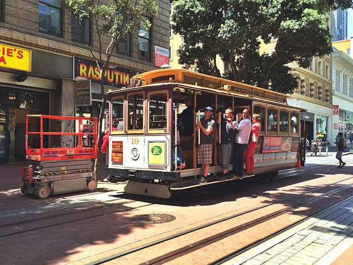Chance Encounters an old SF picture from 2014 City City Street Street Outdoors People Adults Only Adult Day City Gate Tram San Francisco Cars & Trucks San Francisco San Francisco Streets Streetphotography Street Photography Streetphoto_color Traveling Travel Destinations Travel Photography Travelling The City Light Neighborhood Map Let's Go. Together. Done That.