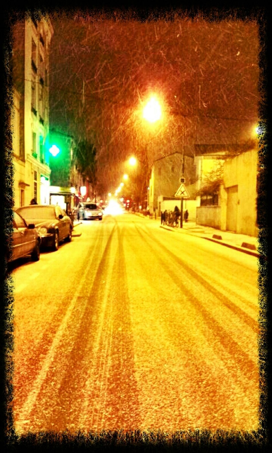 Streetphotography Urban Snow Je N'aime Pas Le Froid