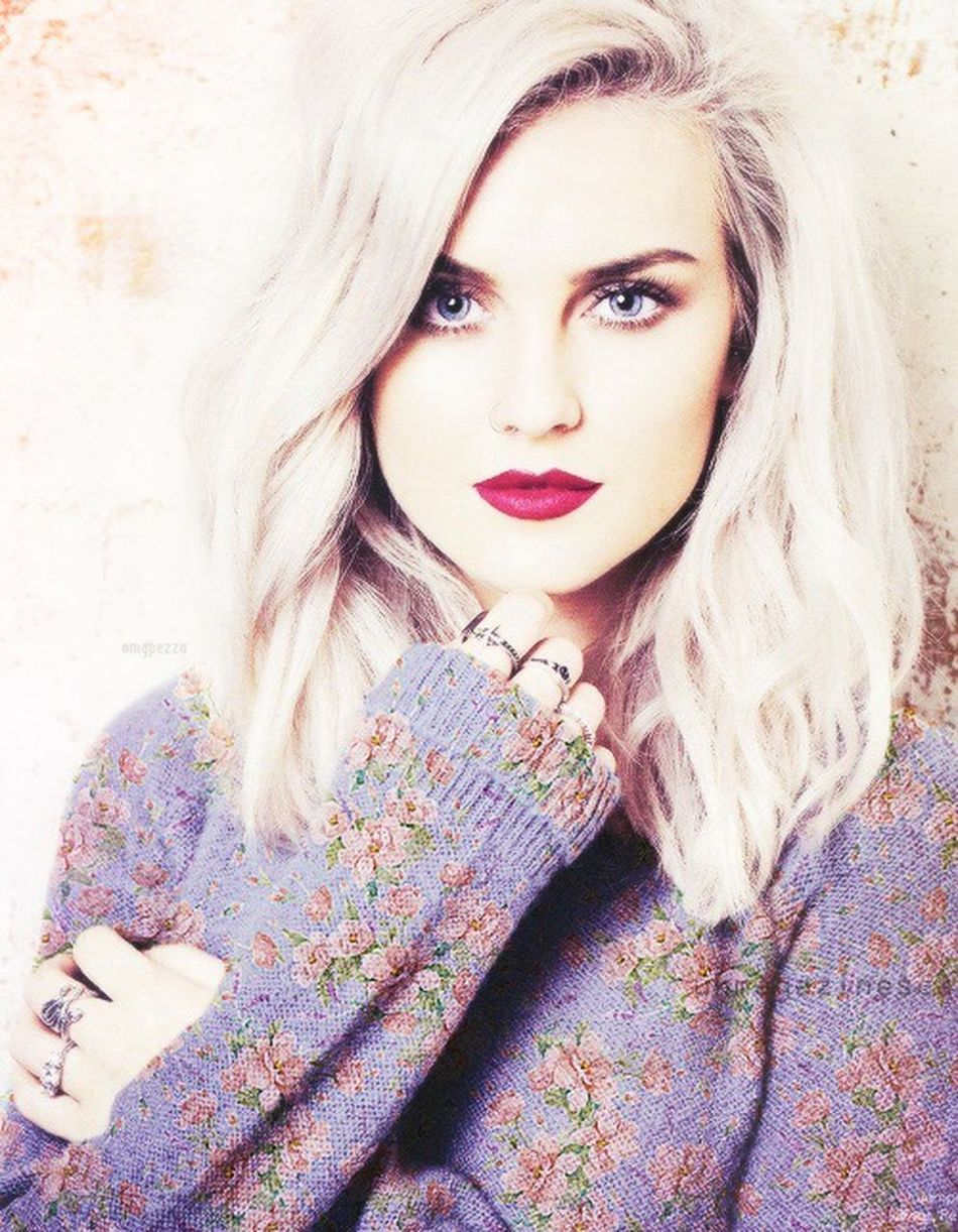 Little Mix  Purple Check This Out Singer  Girl Beautiful Red Blonde