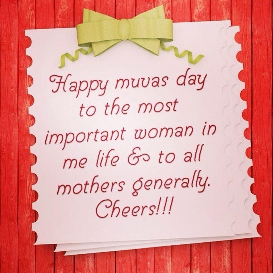 Happy Muvas Day