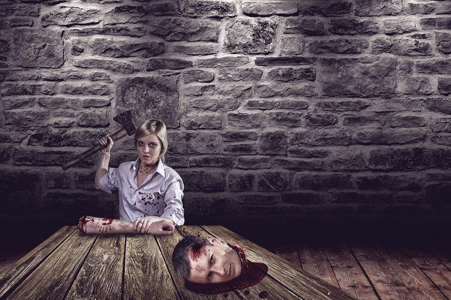Cool Cuttin' Heads !!! Girl Indestructible Kill Martynas Stanaitis Portrait Sick