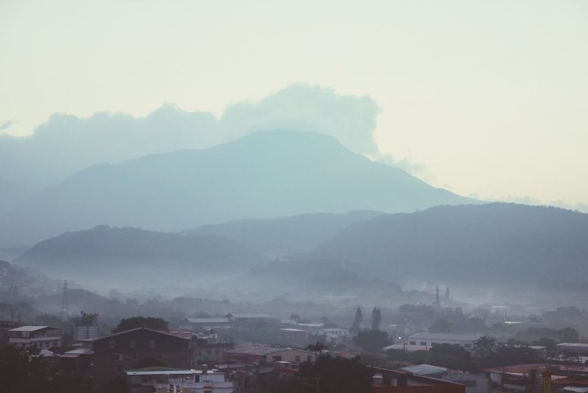 Canon Canonphotography Mountain Fog Landscape Sky And Clouds Morning Shot Landscape In The Mist EyeEm Nature Lover