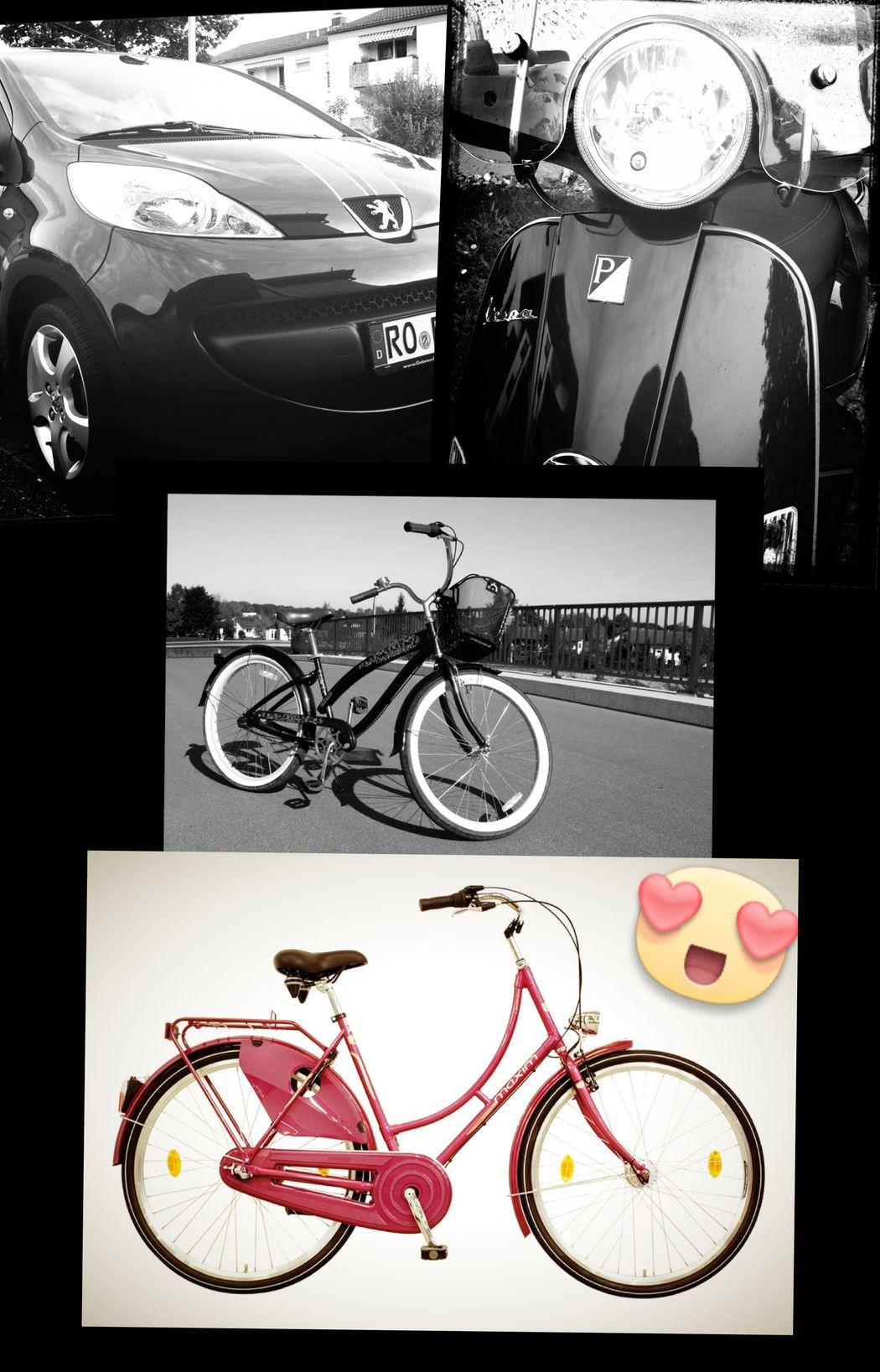 ... my Car, my Vespa, my Bikes ❤️❤️❤️❤️