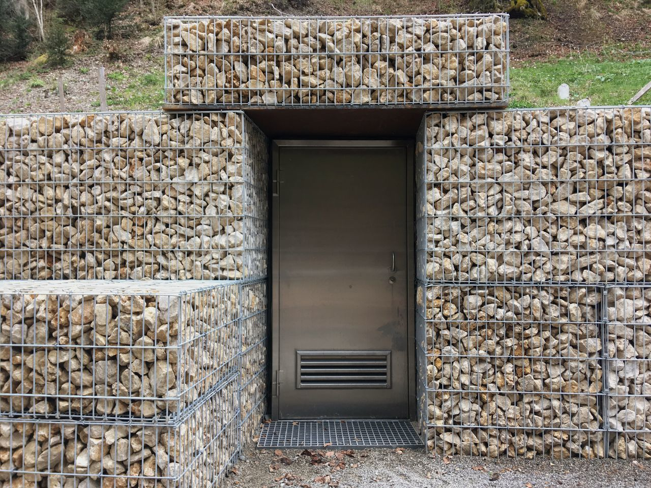 Stone Wall Outdoors Built Structure No People Day Architecture Stack Building Exterior Stones Shed Stone Cage