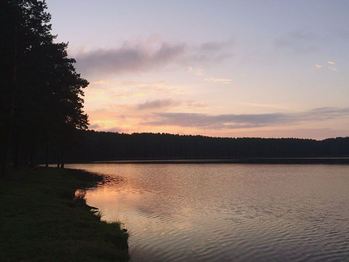 Sunset Water Nature Lake Happynik Bestholiday Friends Wever