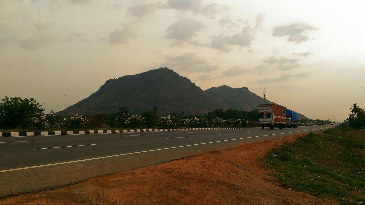 India Wanderlust Highway Hills Mountains Landscape