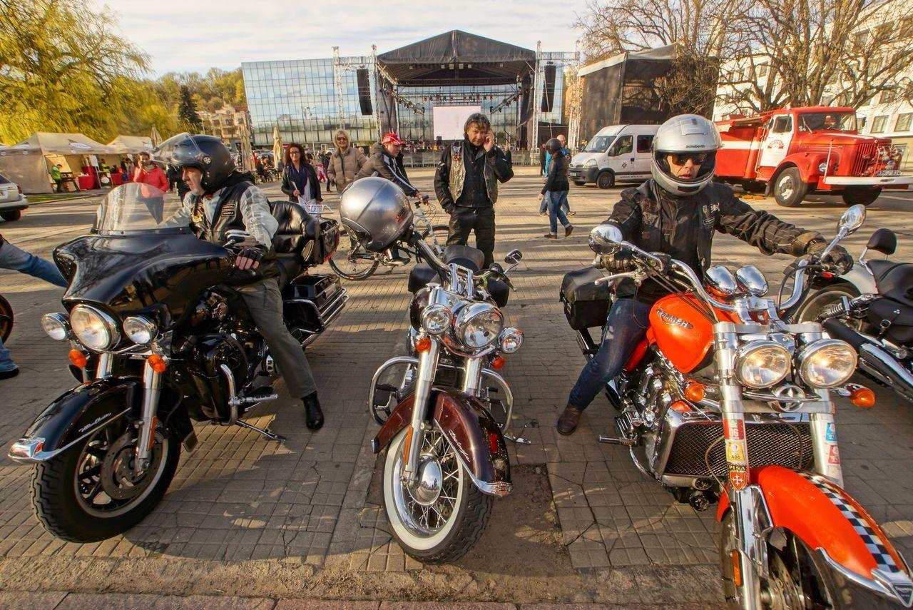 2015  Biker Bikers Kaunas Jazz Moto Motorcycle