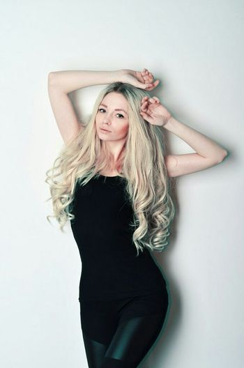 That's Me Blonde Russian Girl Longhair Beauty Redefined
