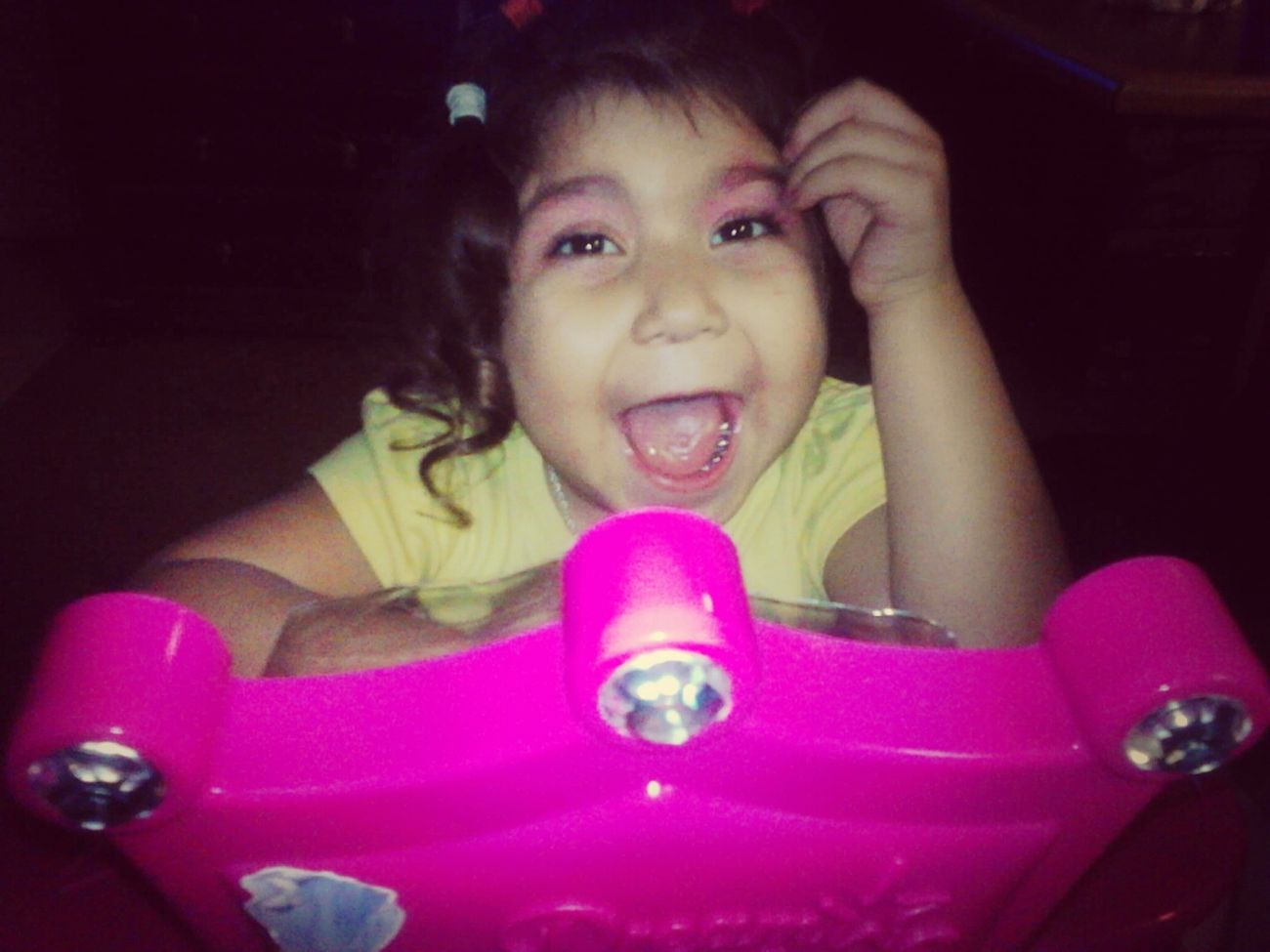 i wanna wish my liddo sister a happy birthday she is now 4 omg she grew up so fast well happy birthday liddo ugly ~ <3