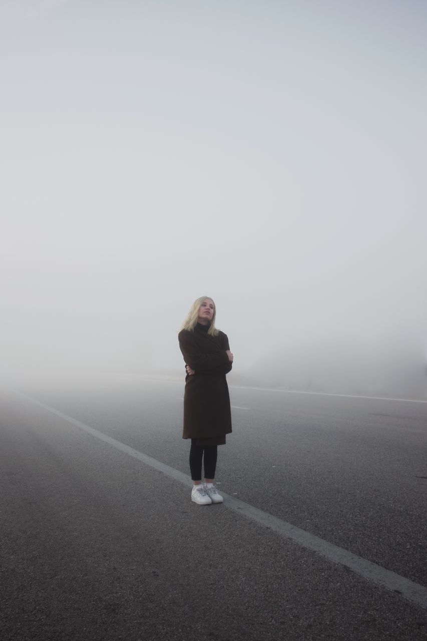 full length one person fog Nature outdoors real people day EyeEm ready AI Now EyeEmNewHere