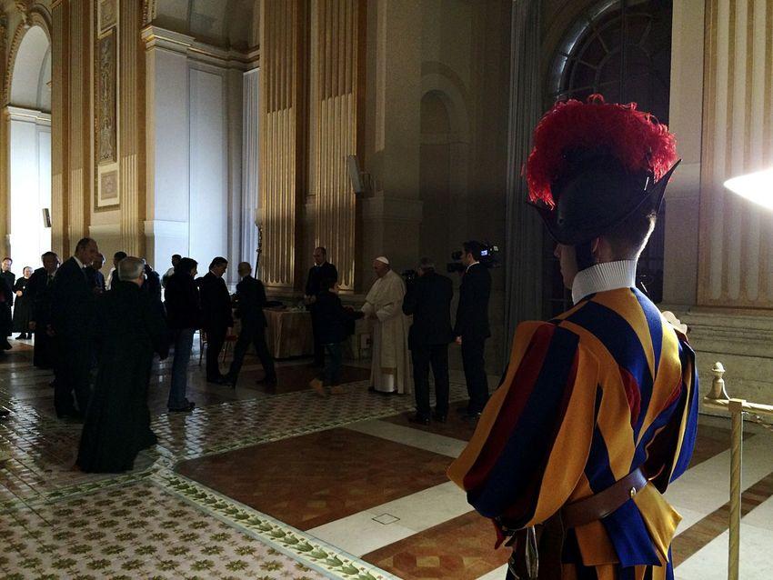 Swiss Guard Pope Christmas Vatican