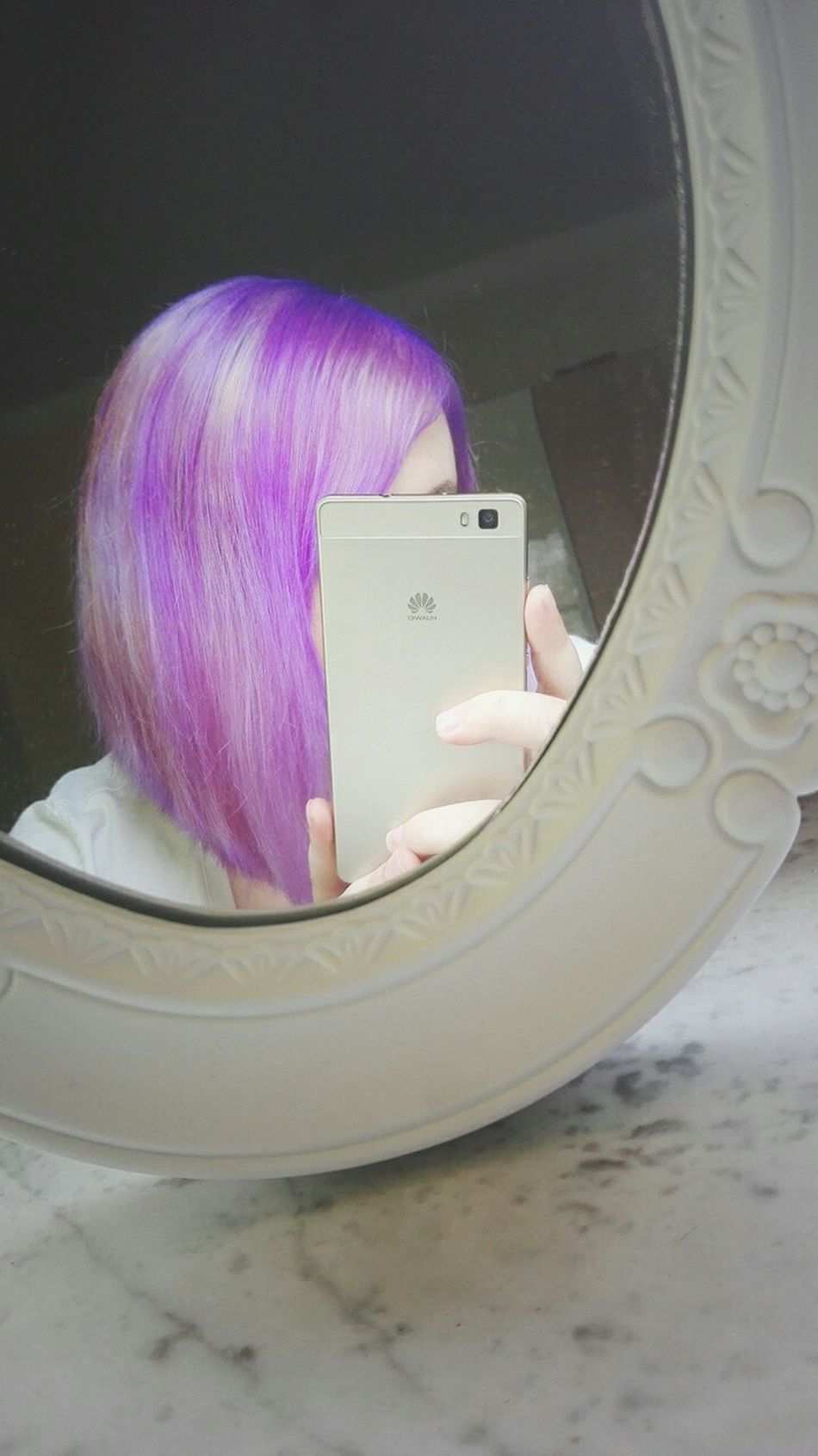 Morning... Me ThatsMe Morning Mondaymorning Mirror Mirrorselfie Shorthair Coloredhair Purple Hair Haircolor Hairstyle Nofilter Picoftheday Photooftheday Like4like Girl Woman Alternativegirl Metalhead Today :) Tired Early Morning Plugs Girlswithtattoos Girlswithpiercings