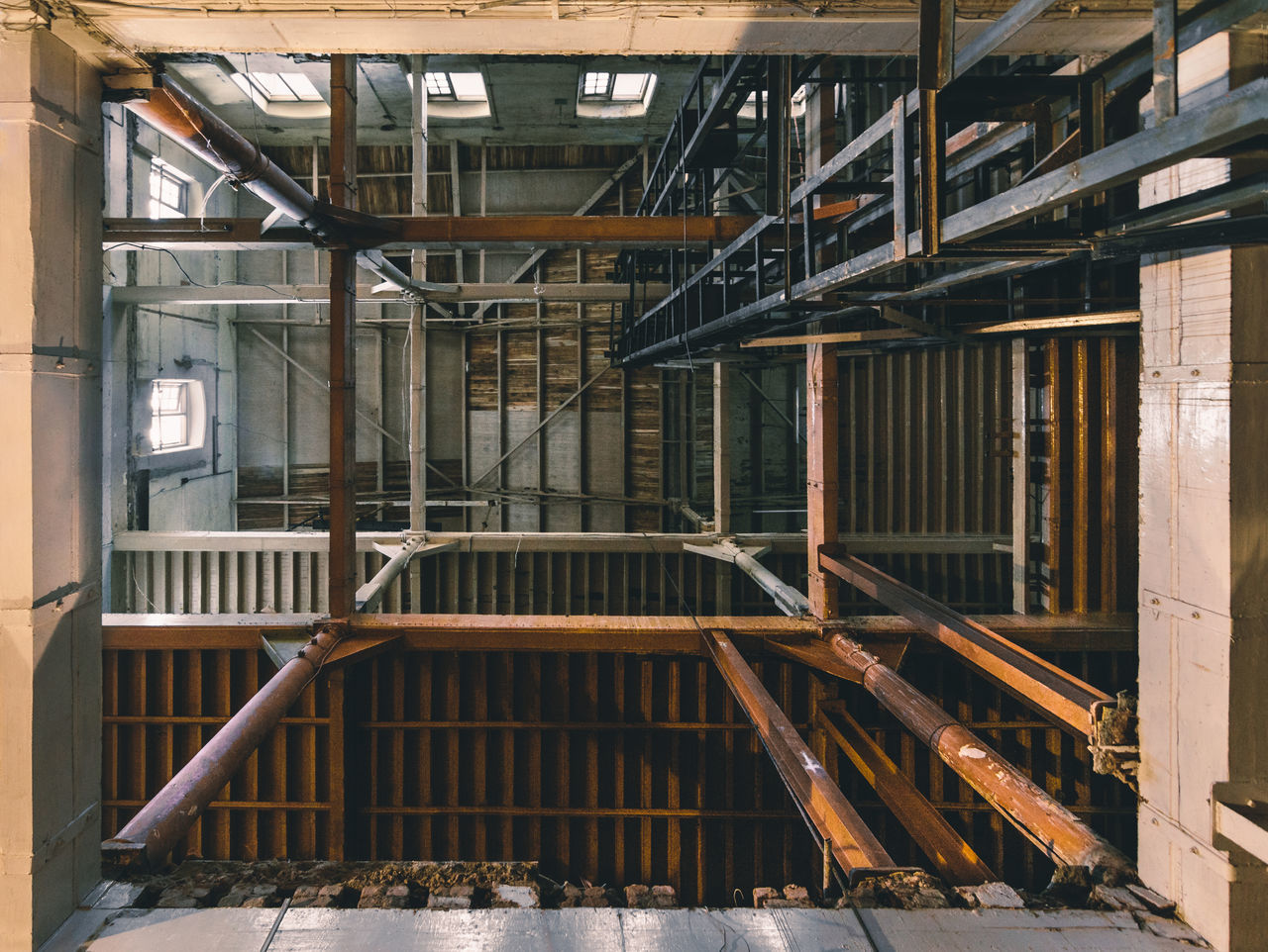 Abandoned Architecture Built Structure Demolition Indoors  Lookup Old Buildings