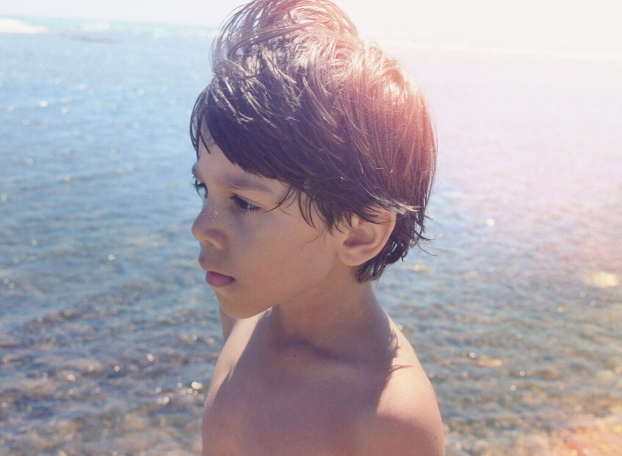 Beautiful stock photos of puerto rico,  4-5 Years,  Anticipation,  Beach,  Boys