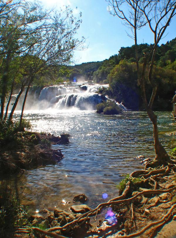Krk Waterfalls, near Sibenik, Croatia Motion Water Nature Sky Landscape Tree Day Waterfall Outdoors Forest Tranquility Flowing Water Branch Scenics Beauty In Nature Sibenik No People Krka National Park Tranquil Scene Thundering Waterfall Waterfalls In Croatia