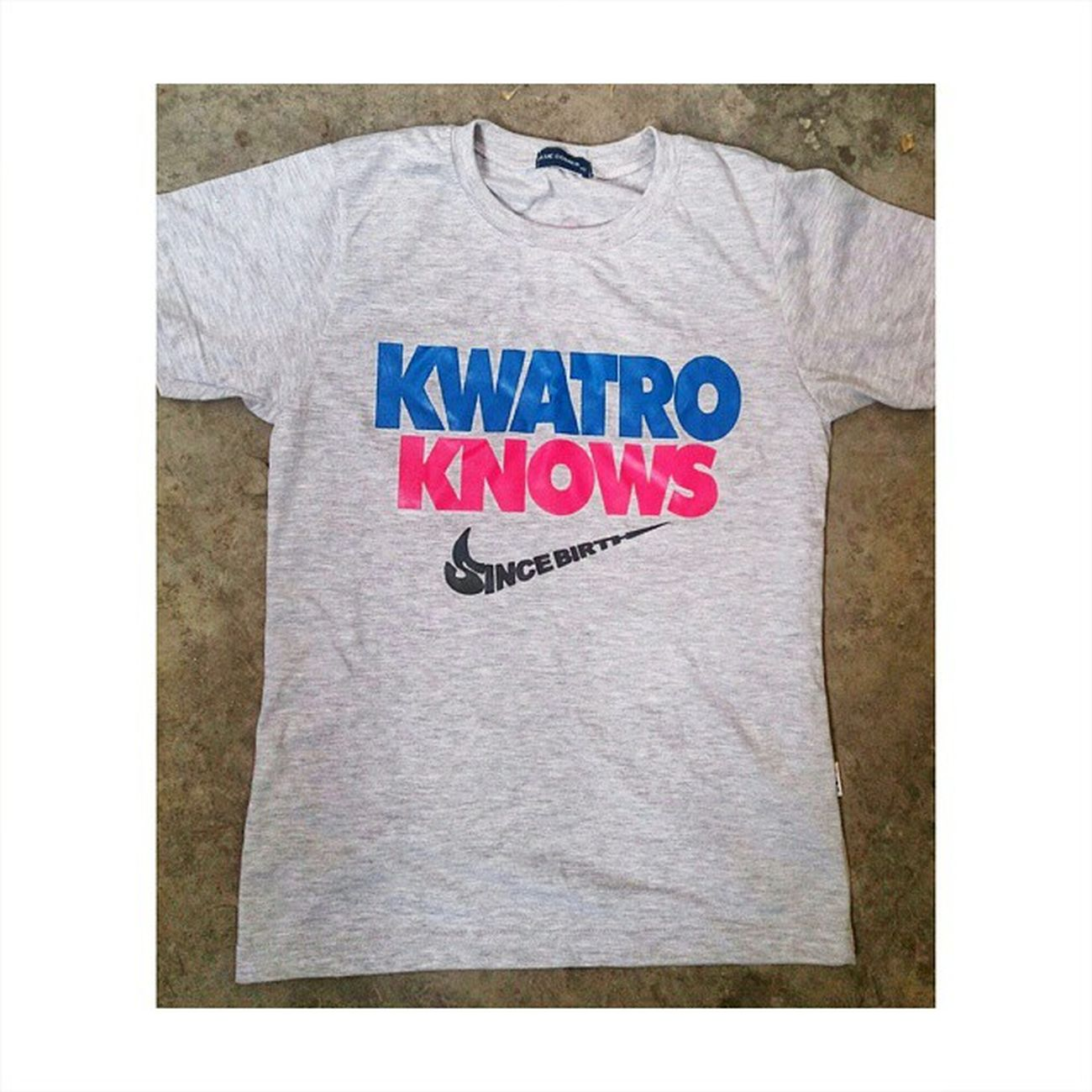 Thank you po for this shirt! Even though I wasn't born nor even grew up in San Gregorio, still it feels like I did. Salamat po ng marami! Thanks for making me a part of the family Purok Kwatro! ツ Happykiddo Sangregorio PurokKwatro KwatroKnows Fiesta Cabiao CabiaoNuevaEcija