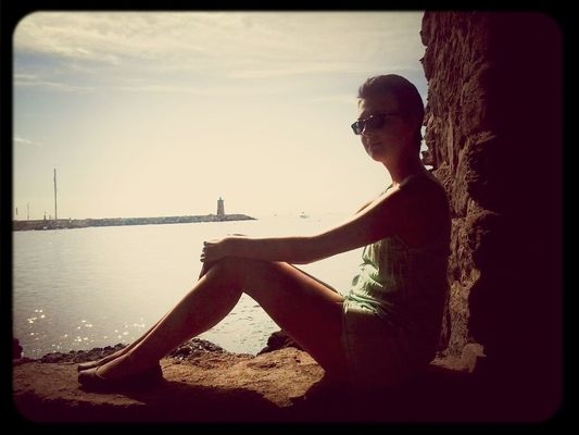 Taking Photos in Antibes by Luluxx