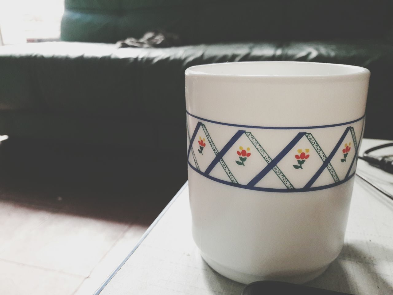 indoors, drink, no people, coffee cup, table, coffee - drink, close-up, day, freshness