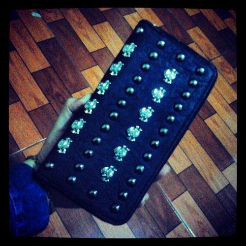Amo mi nueva Billetera de Calaveras Skull gracias @mbanc !! :')