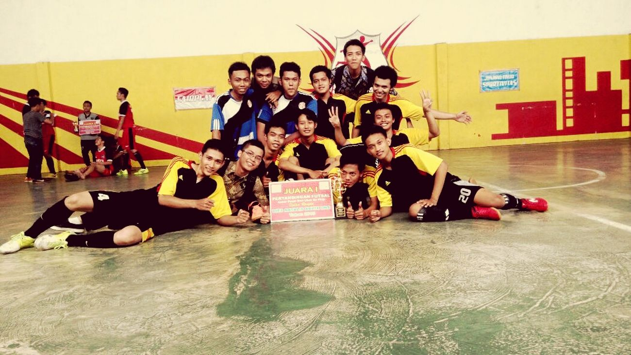 Futsal Team Mathematics Education of Uns