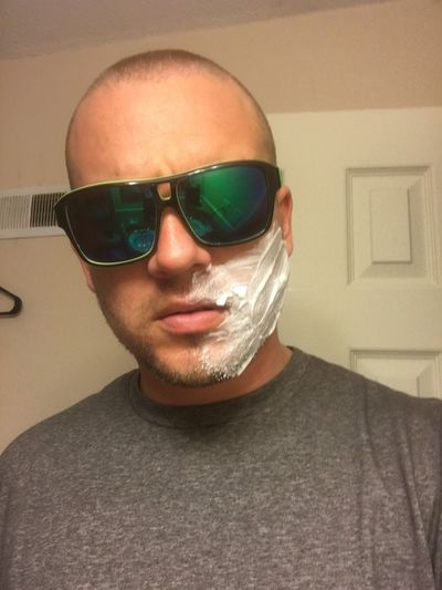 Shave or not to shave... Shaving Mean Muggin Sunglasses Bored Af Rent My Face